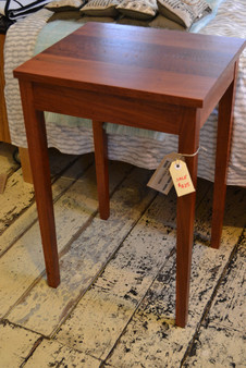 Bedside table, Redgum