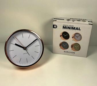 IS GIFT alarm clock copper