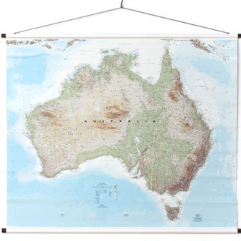 TELEGRAM map -australia