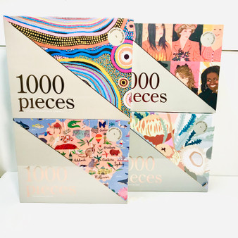 Stunning jigsaw puzzles designed by Journey of Something artists. 1000 pieces. Beautiful enough to frame.  Great gift