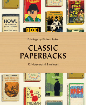 MANIC classic paperbacks notecards and enevelopes