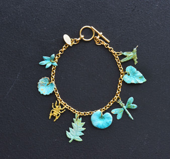 WE DREAM IN COLOUR charm bracelet