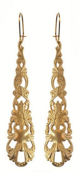 WE DREAM IN COLOUR anais earrings gold