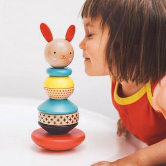 PETIT COLLAGE stacking toy