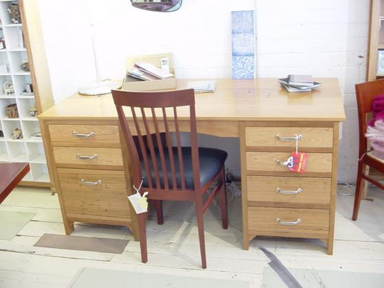 Partner's desk, Solid Ash