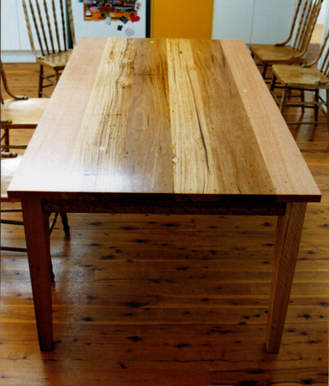 Dining Table, Hardwood with feature grain