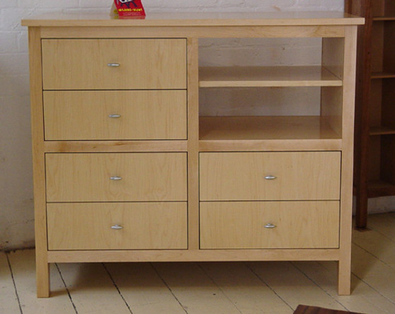 Rock Maple six drawer chest