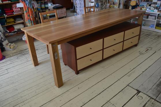 Dining table, American Oak, 2700x990