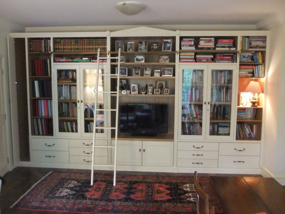 French style wall unit