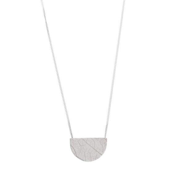 SHABANA J necklace leaf print