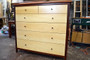 Lowboy, Jarrah with Maple drawer fronts