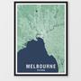 DESIGN ATELIER city map A3