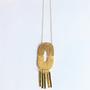 SHABANA J necklace aztec gold 812