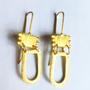 SHABANA J earrings aztec gold 734