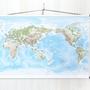 TELEGRAM map- world map med