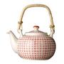 BLOOMINGVILLE carla teapot red