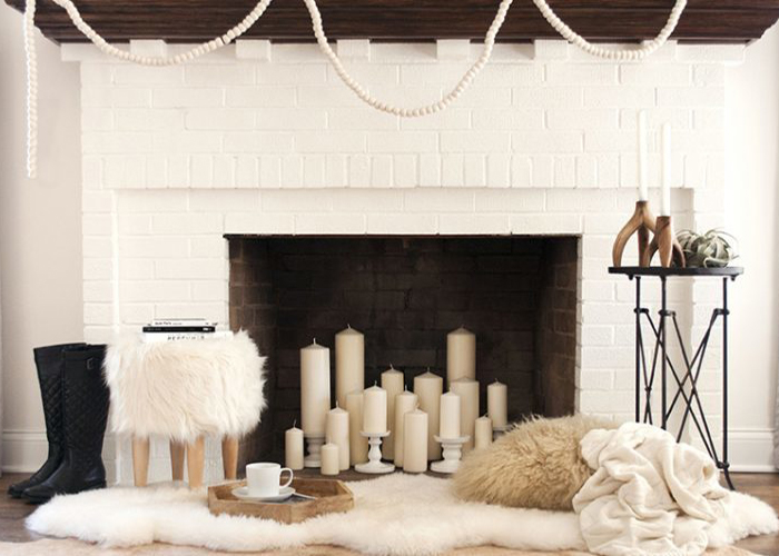 Making Over an Out-of-Order – or Out of Season – Fireplace