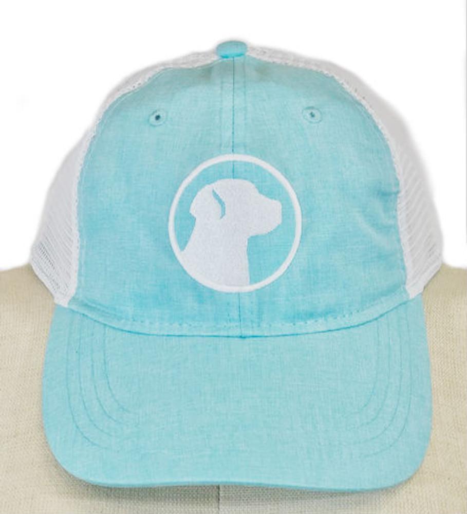 The Soggy Dog Chambray Icon Hat Light Aqua