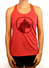 CoCo's Monkey Island Icon Tank Ripe Current Red
