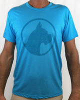 CoCo's Monkey Island Icon Soft Tee Tahoe Blue