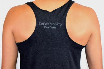 CoCo's Monkey Island Icon Tank Heather Black