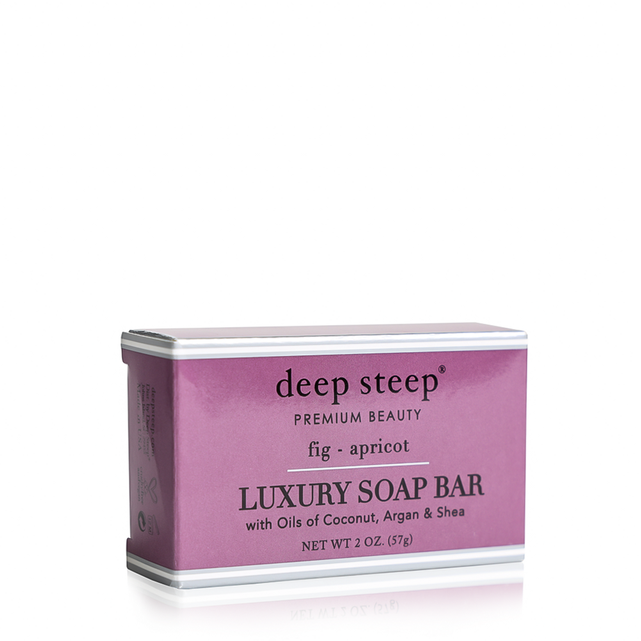 Luxury Soap Bar Fig Apricot - Front