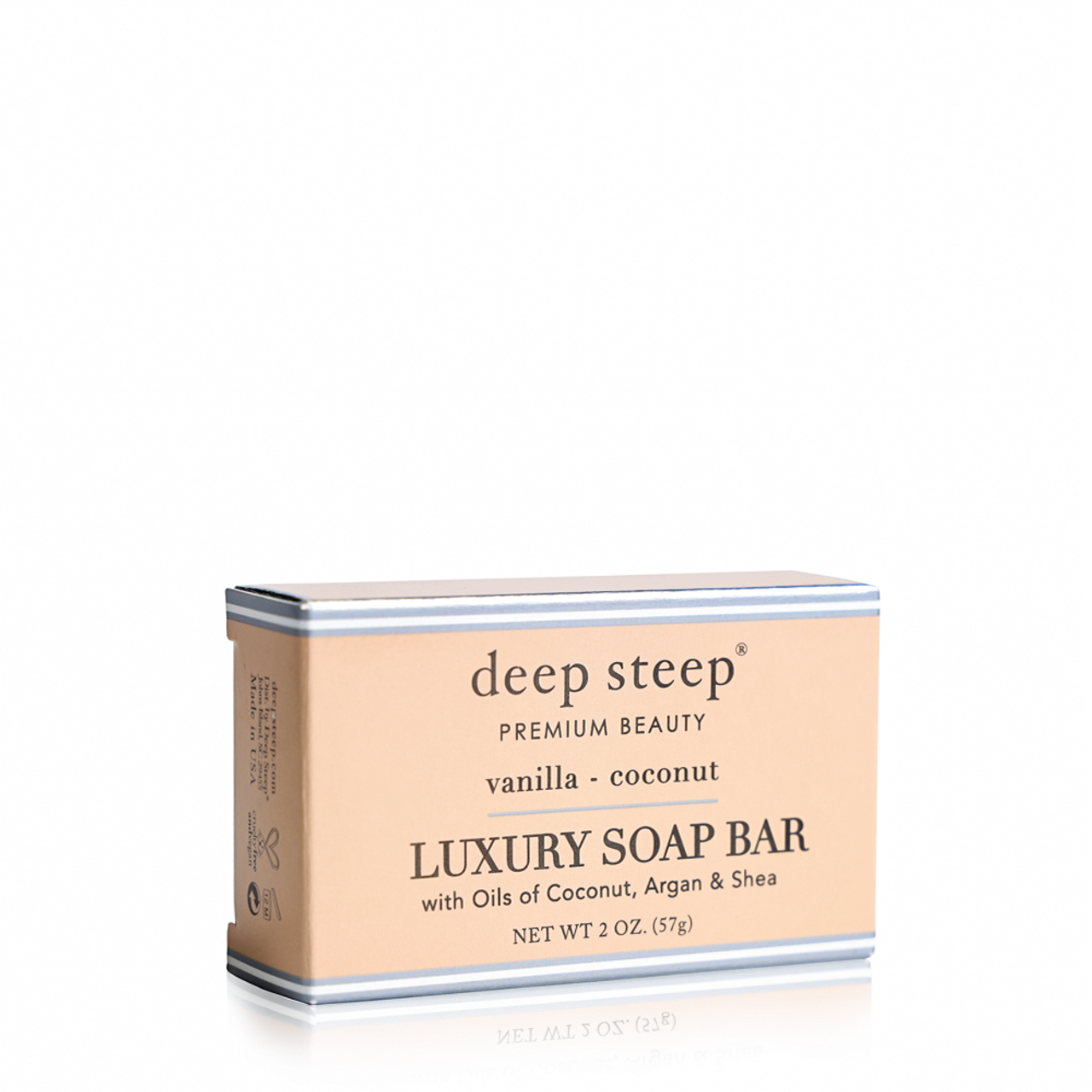 Luxury Soap Bar Vanilla Coconut - Front