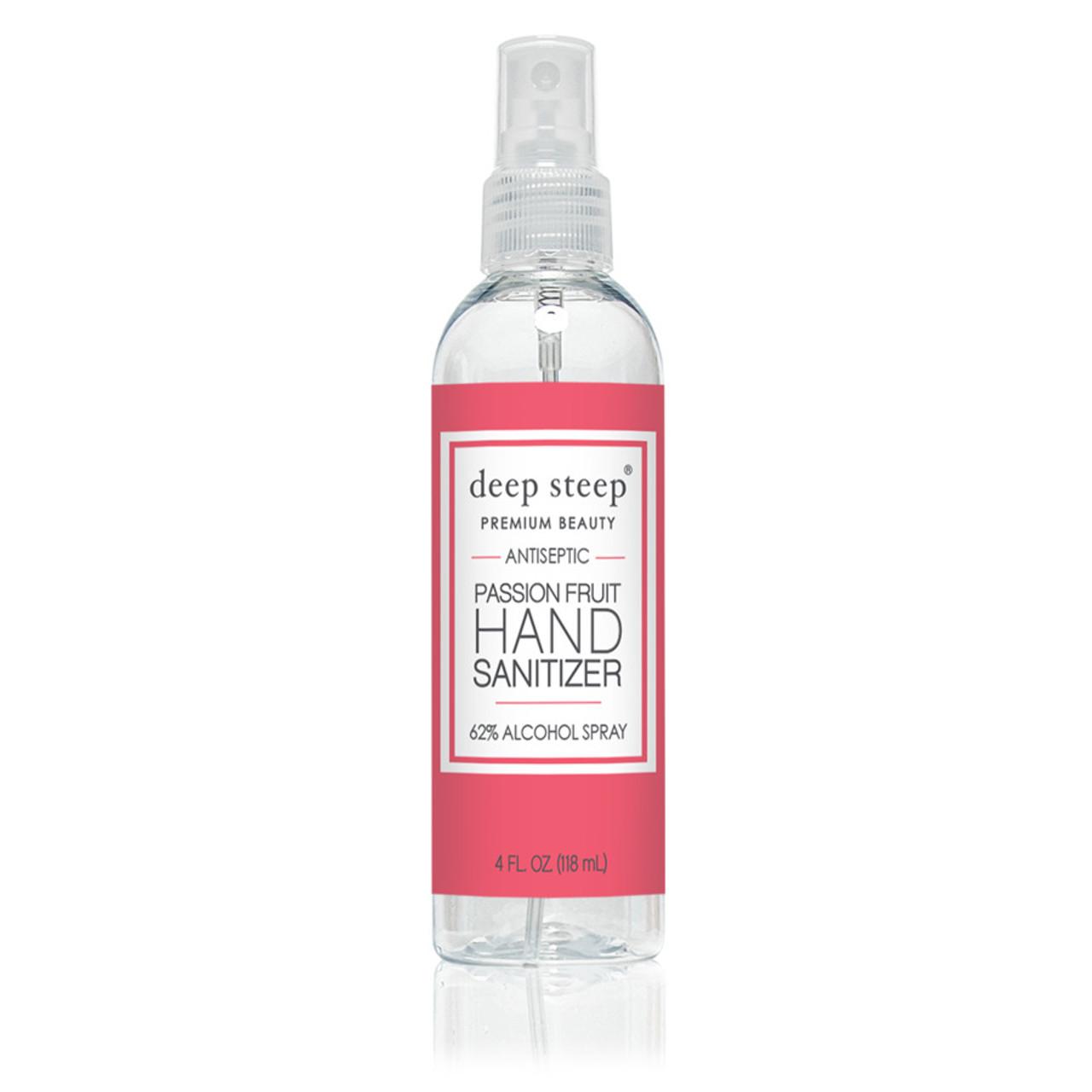 Hand Sanitizer Spray, Passion Fruit - 4fl oz. - Front