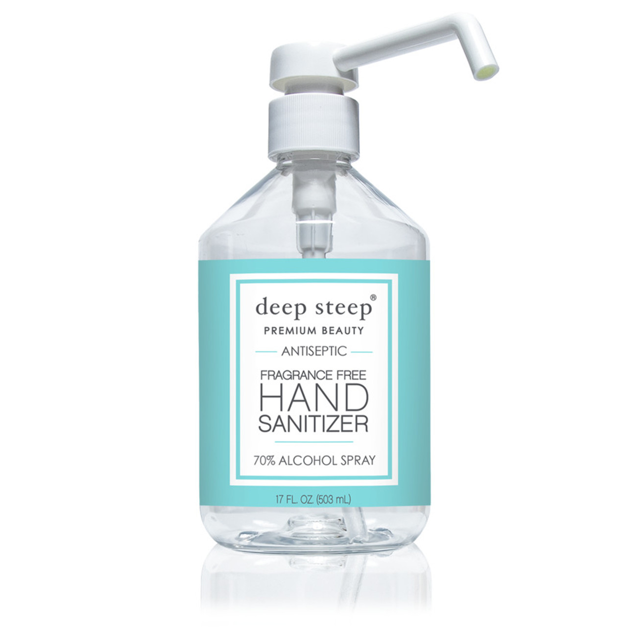 Hand Sanitizer Spray, Fragrance Free - 17.5fl oz. - 70% Alcohol - Front