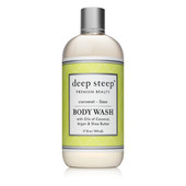 Body Wash Coconut Lime 17oz - Front