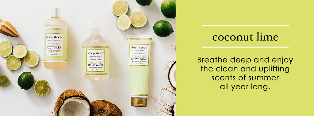 Deep Steep Coconut Lime Scent
