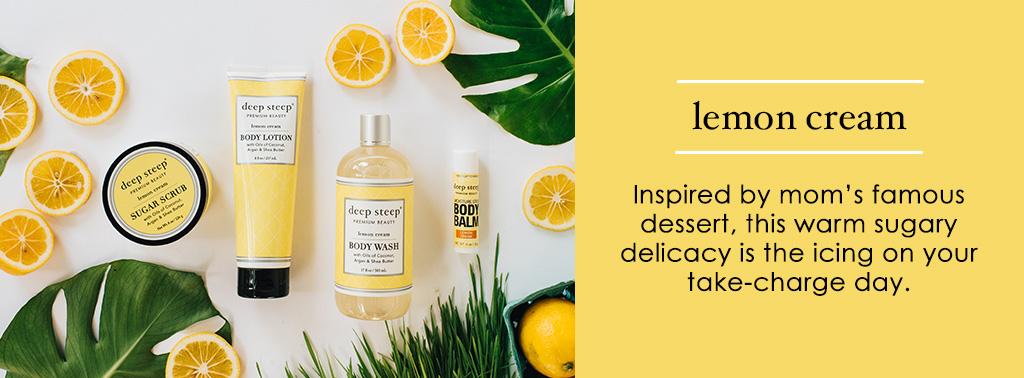 Deep Steep Lemon Cream Scent
