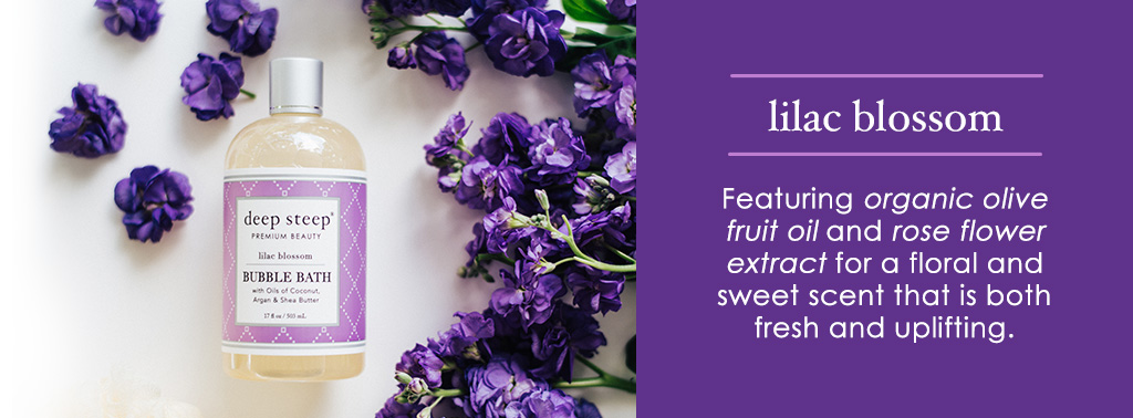 Deep Steep Lilac Blossom Scent