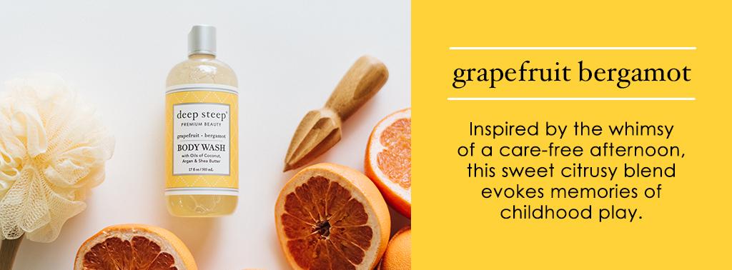 Deep Steep Grapefruit Bergamot Scent