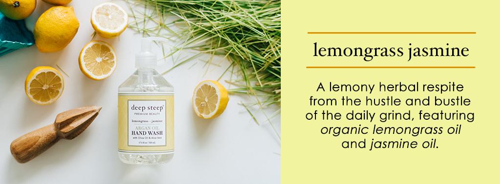 Deep Steep Lemongrass Jasmine Scent