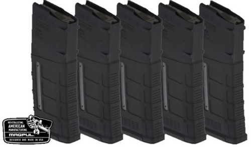 MAGPUL PMAG 30rd W/ Window GEN M3 - Black- Pack of 5-REBUILD KIT