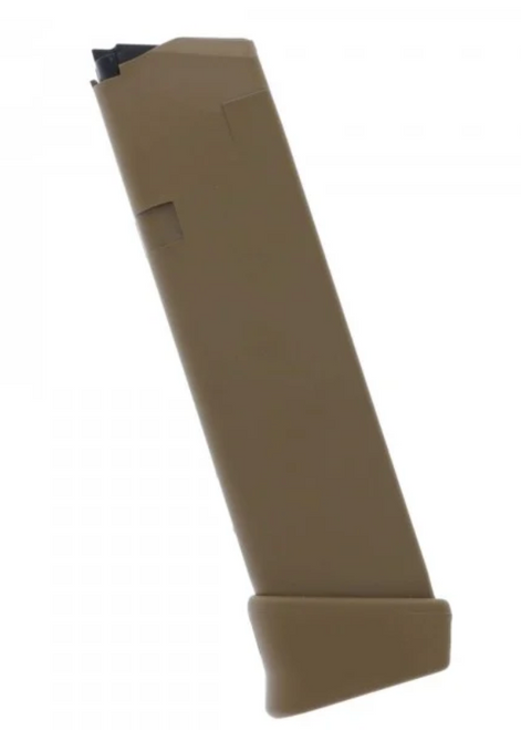 Glock OEM 19X G17 17rd +2- 19rd Magazine Coyote -REBUILD KIT