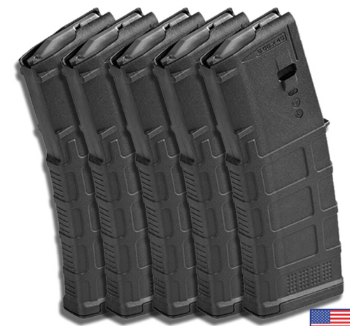 MAGPUL PMAG 30rd- GEN M3 - Black- Pack of 5-REBUILD KIT