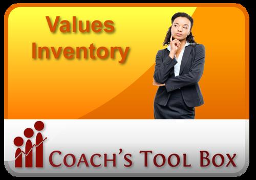QUICKFix Coach's Toolbox - Values Inventory