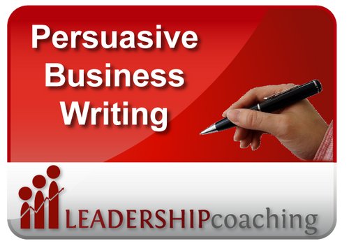 Coaching - Business Writing that Persuades
