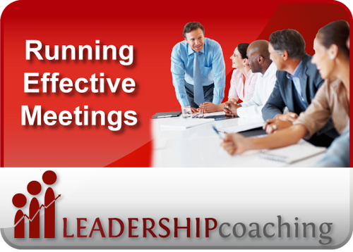 Coaching - Meeting Management