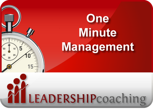 Coaching - One Minute Management