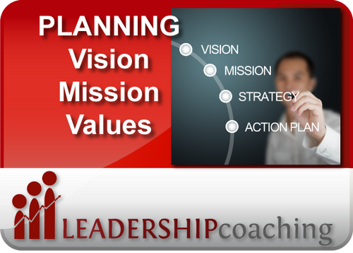 Coaching - Planning: Mission Vision Values