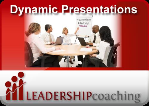 Coaching - Presentations
