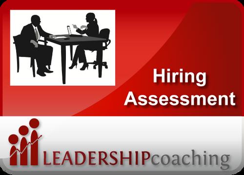 Coaching - Hiring Assessment