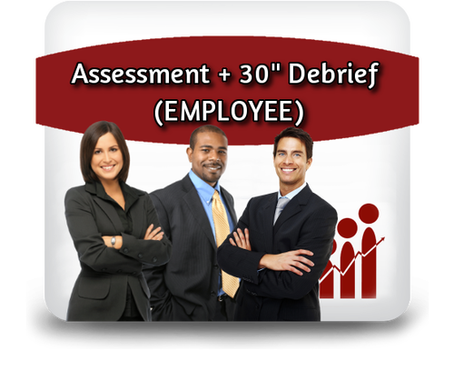 "Employee Profiling - Assessment + 30"" Debrief"