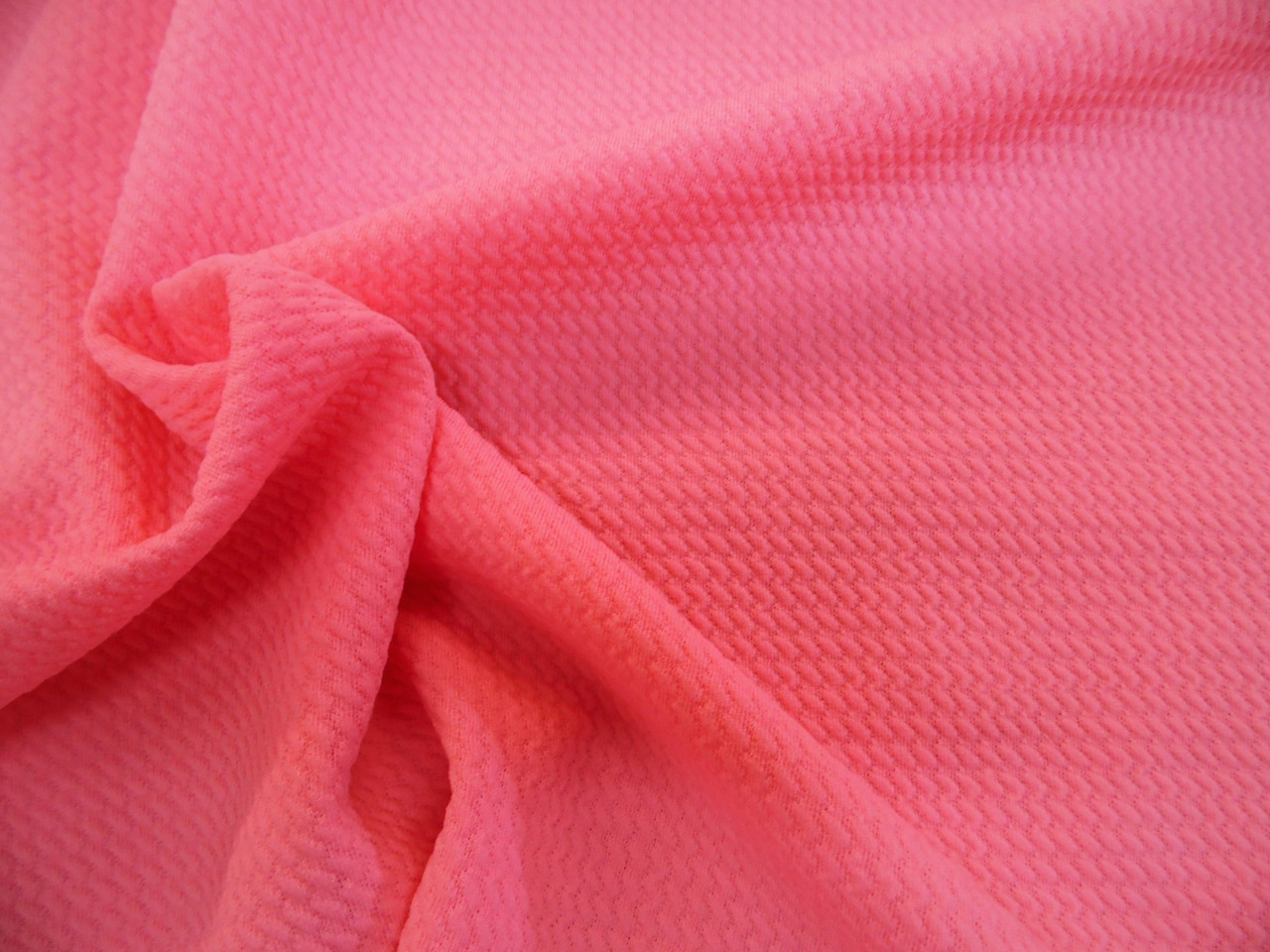 a305e24b7c Bullet Textured Liverpool Fabric 4 way Stretch Rose Pink -Designer ...