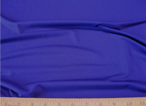 Discount Fabric Lycra Spandex 4 way Super Stretch Royal Blue LY981