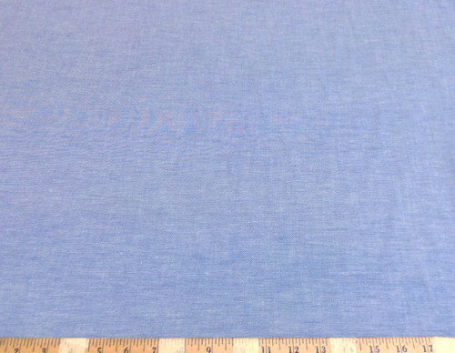 Discount Fabric Cotton Chambray Apparel Blue CH102