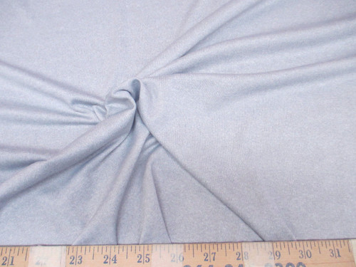 Discount Fabric Polyester Lycra Spandex 4 way stretch Heather Gray Grey LY953